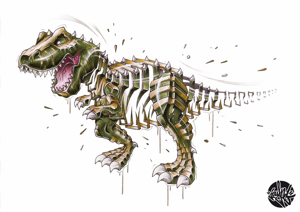 T-Rex Slice